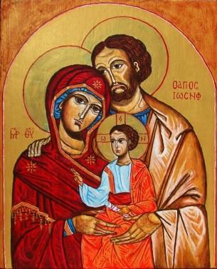 Święta Rodzina Przytulona