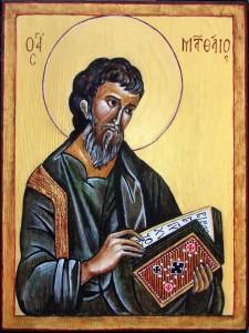 ikona świętego Patrona - prezent na Komunię