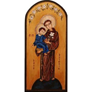 Ikona świętego Patrona - prezent na Chrzciny