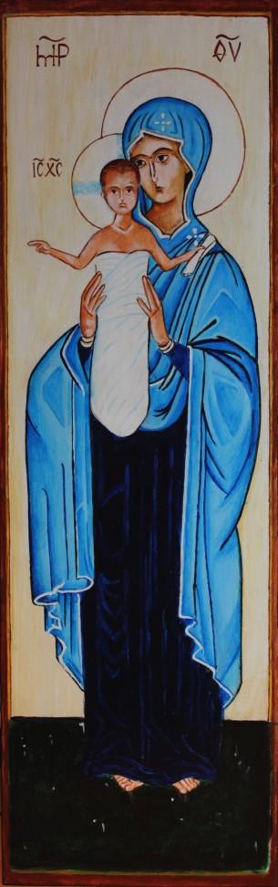 Matka Boża ofiarująca ludzkości Chrystusa