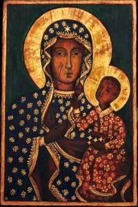 Ikona Matki Boskiej - prezent na Komunię