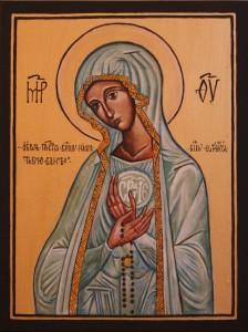 ikona Matki Bożej Różańcowej
