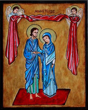 Zaślubiny Marii i Józefa